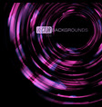 abstract swirl purple shapes colors vector image vector image