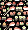 Beautiful of delicious Japane vector image vector image
