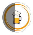 beer drink design vector image vector image