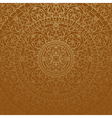 brown oriental background vector image vector image
