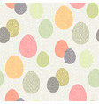 easter ethnic pattern vector image vector image