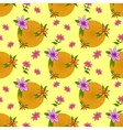 flower background seamless vector image