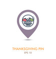 Fruit basket mapping pin icon harvest