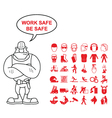 Health and Safety Graphics vector image vector image