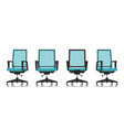 office chair or desk chair vector image