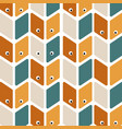 seamless pattern with eye perfect for wallpapers vector image