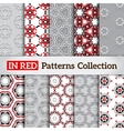 Stylish backdrops collection vector image vector image
