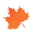 brown autumn tree leaf icon isometric style vector image