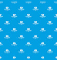 cleaning soap pattern seamless blue vector image vector image