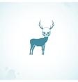 deer skull head vector image