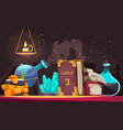 alchemy objects vector image