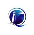 beacon lighthouse logo design