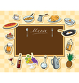 board food vector image vector image