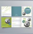 brochure design 963 vector image vector image