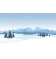 christmas snowfall background snow winter vector image vector image