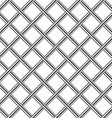 chrome metal grid diagonal seamless background vector image vector image