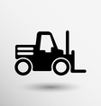 forklift icon button logo symbol concept vector image vector image