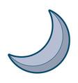 half moon night celestial natural image vector image vector image