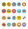 Hotel and Restaurant Icons 2 vector image vector image