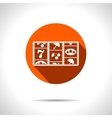 orange slot icon Eps10 vector image