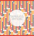 seamless pattern with parallel lines in three vector image vector image