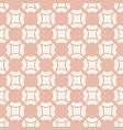 simple pink geometric seamless bapattern vector image vector image