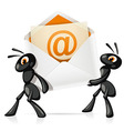 Ants eMail vector image vector image