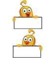 Cartoon Chick Border Frame vector image