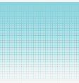 half tone circular pattern blue seamless halftone vector image