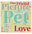 Pet Picture Frames a Because It Is One Of The Best vector image vector image