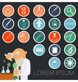 Sciense icons collection vector image vector image