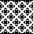 seamless pattern black white crossing dots vector image vector image