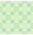 Spring simple and clean pattern with flowers vector image vector image