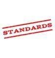 Standards Watermark Stamp vector image vector image