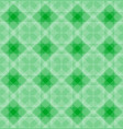 abstract geometric shapes pattern green background vector image vector image