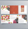 brochure design 972 vector image vector image