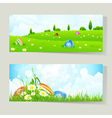 Easter cards with eggs vector | Price: 1 Credit (USD $1)