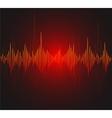 equalizer musical bar Dark background vector image vector image