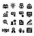 human resource icon vector image vector image