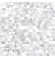 modern white abstract background with triangles vector image vector image