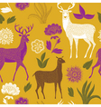 natural deer wallpaper vector image vector image
