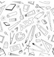 Doodle pattern of art vector image