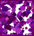 abstract seamless chaotic square pattern vector image vector image