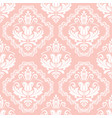 classic seamless white pattern vector image