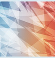 colorful abstract geometric for background banner vector image