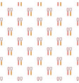 cutlery bake pattern seamless vector image vector image