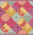 geometric minimalistic seamless pattern vector image vector image