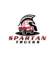 global spartan truck vector image vector image