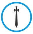 Medieval Sword Icon vector image vector image