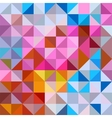 Pattern of repeating elements vector image vector image